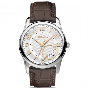 Acier bracelet cuir homme - 25038.23