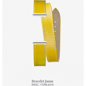 Bracelet de montre Antarès - Double Jaune