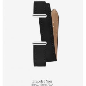 Bracelet de montre Antarès - Double Noir