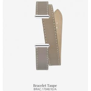 Bracelet de montre Antarès - Double Taupe