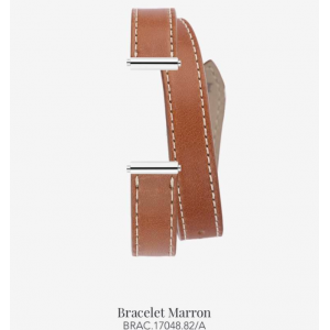 Bracelet de montre Antarès - Double Marron