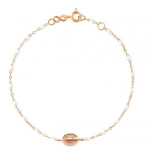 Bracelet Gigi Clozeau Madone résine blanche