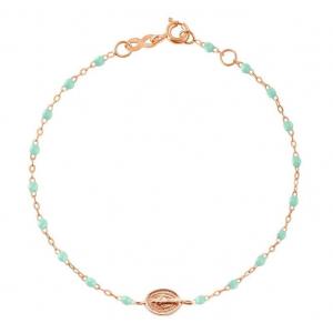 Bracelet Gigi Clozeau Madone résine jade