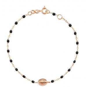 Bracelet Gigi Clozeau Madone résine noire