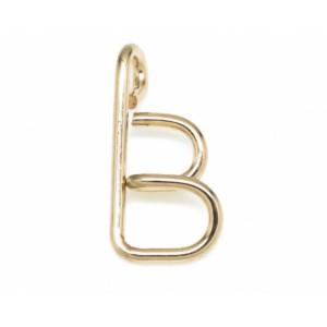 "Léo Collection pendentif or blanc ou jaune ou rose ""B"""