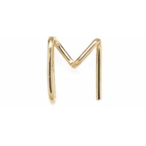 "Léo Collection pendentif or blanc ou jaune ou rose ""M"""