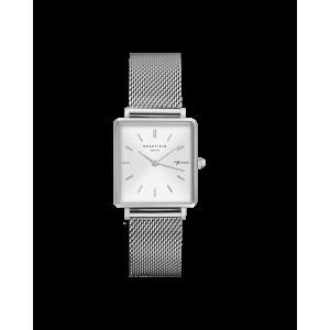 The Boxy Blanc Sunray - Argent - QWSS-Q02