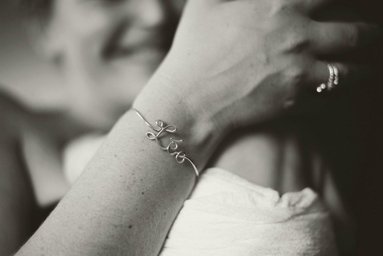 Bracelet en or blanc 18 ct